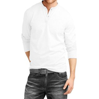 b6e55ce0124 Buy Full Sleeve Henley Neck T shirt from AALRYT Online   ₹421 from ...