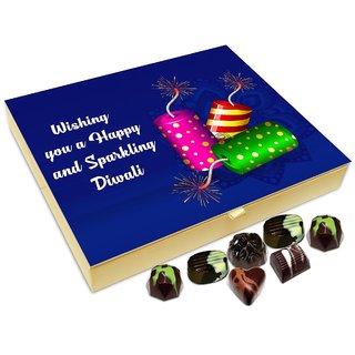 Chocholik Diwali Gift - Wishing You A Very Sparkling And Happy Diwali Chocolate Box - 20pc