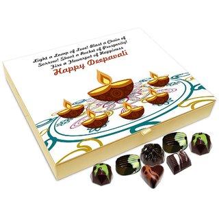 Chocholik Diwali Gift - Shoot A Rocket Of Prosperity On This Diwali Chocolate Box - 20pc