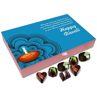 Chocholik Diwali Gift Box - May This Diwali Strengthens Bonds Between Communities Chocolate Box - 12pc