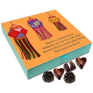 Chocholik Diwali Gift Box - Diwali Is A Festival Of Love Chocolate Box - 9pc