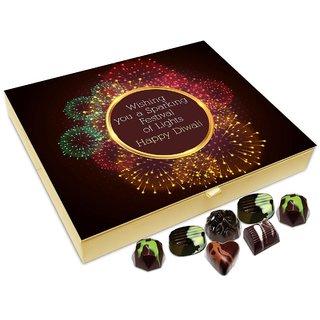 Chocholik Diwali Gift Box - Wishing A Very Sparkling And Healthy Diwali Chocolate Box - 20pc