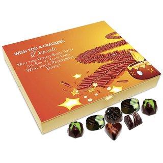 Chocholik Diwali Gift - Wish You A Cracking And Prosperous Diwali Chocolate Box - 20pc