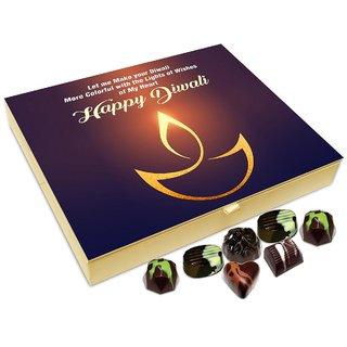 Chocholik Diwali Gift Box - Let Us Make Our Diwali More Colorful Chocolate Box - 20pc