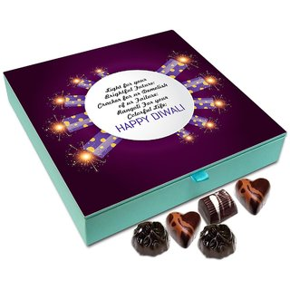 Chocholik Diwali Gift Box - Wish You A Bright Future On This Diwali Chocolate Box - 9pc