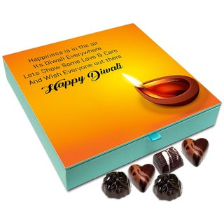 Chocholik Diwali Gift - Spread Love And Care On This Diwali Chocolate Box - 9pc