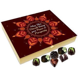 Chocholik Diwali Gift Box - May This Diwali Brings Prosperity And Health Chocolate Box - 20pc