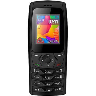 IKall K6610 Black 1.8 Inch Dual Sim Bis Certified Made In India Battery Saver (No Earphones) Feature