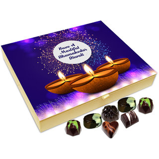 Chocholik Diwali Gift - Have A Joyful And Happy Diwali Chocolate Box - 20pc