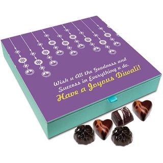 Chocholik Diwali Gift Box - Have A Joyous Deepawali Chocolate Box - 9pc
