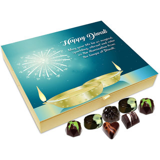 Chocholik Diwali Gift - May Your Life Be As Magical As Sparkling As Diwali Chocolate Box - 20pc