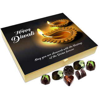 Chocholik Diwali Gift - ON This Diwali May You Are Showered With Blessings Chocolate Box - 20pc