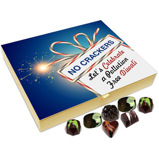 Chocholik Diwali Gift - This Diwali With Lots Of Sweets, Lights And Love Chocolate Box - 20pc