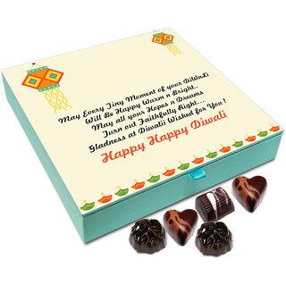 Chocholik Diwali Gift Box - May This Diwali Be Happy Warm And Bright Chocolate Box - 9pc