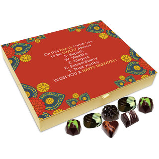 Chocholik Diwali Gift - On This Diwali I Wish You To Remain Sweet As Always Chocolate Box - 20pc