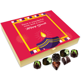 Chocholik Diwali Gift - Have An Enjoyable Diwali Chocolate Box - 20pc