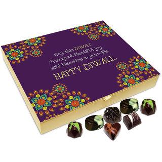 Chocholik Diwali Gift Box - May This Diwali Transport Plentiful Joy Into Your Life Chocolate Box - 20pc