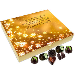 Chocholik Diwali Gift Box - May This Diwali Bring You Lots Of Good Health Chocolate Box - 20pc