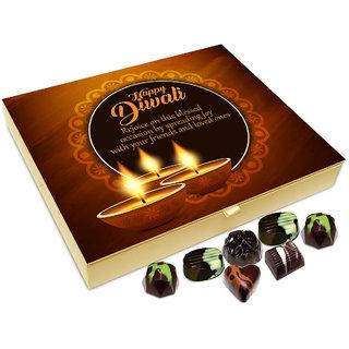 Chocholik Diwali Gift Box - Have A Beautiful And Pollution Free Diwali Chocolate Box - 20pc