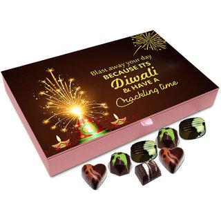 Chocholik Diwali Gift - Have An Amazing Time This Diwali Chocolate Box - 12pc