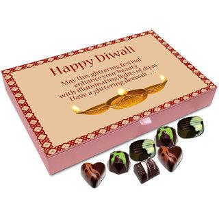 Chocholik Diwali Gift Box - May This Glittering Diwali Enhance Your Beauty Chocolate Box - 12pc