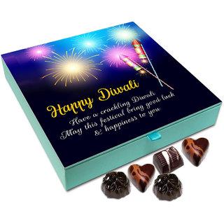 Chocholik Diwali Gift - May The Deepawali Bring Lots Of Fun And Happiness Chocolate Box - 9pc