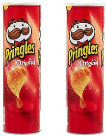 Pringles the Original Potato crisps, 161g (Pack Of 2)