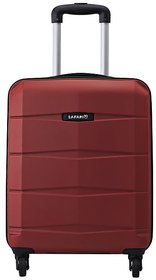Safari RE-GLOSS-4 Wheel-65-RED-Antiscratch Unisex Hard Luggage Trolley Bag