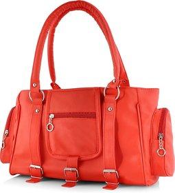 Cottage Accessories Red Plain Handbag