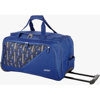 SAFARI Trojan 65 Inches Blue Duffle Bags 1a274a70dcd72