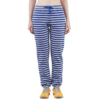 Wake Up Competition Striper Women's Sky Blue Track Pant