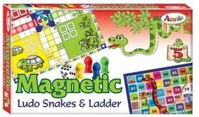 Annie Magnetic Ludo Snakes  ladder