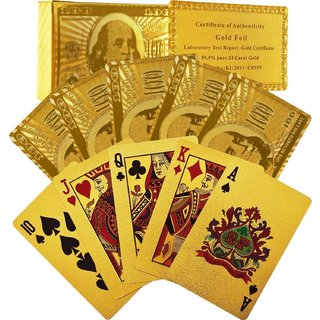 Exclusive 24k Gold Playing Card From Dubai LIMITED STOCK