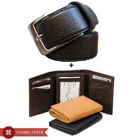 iLiv Black Leatherite Wallet For Men