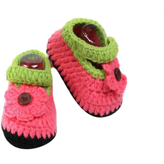 ChoosePick Handmade Crochet Baby Booties  for age 0 to 3 Months 12