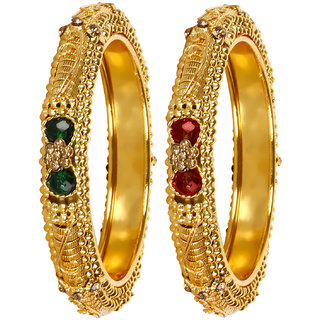 Penny Jewels Traditional Latest Fancy Stylish Designer Bangles Set For Women  Girls