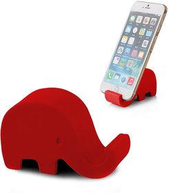 Sketchfab Elephant Design Mobile Holder -(Red)