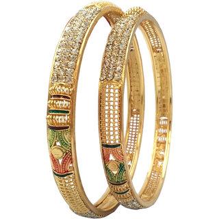 Bhagya Lakshmi Gold plated bangles for women