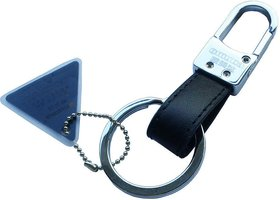 Original Omuda 3730 Metal Hook  Locking Key Chain with Double Rings Keyring