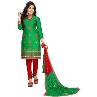 8316db5cf0 Buy Minu Suits Salwar Suits Sets Cotton Green Stitched XX-Small Online - Get  23% Off