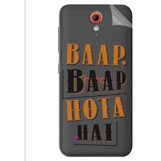 Snooky Digital Print Tpu Transpanent Mobile Skin Sticker For Htc Desire 620