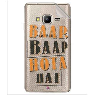 Snooky Digital Print Tpu Transpanent Mobile Skin Sticker For Samsung Z2