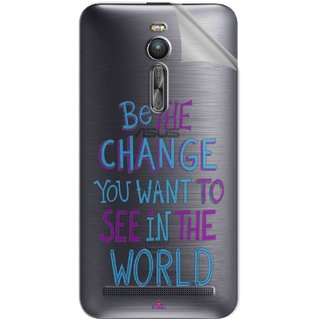 Snooky Digital Print Tpu Transpanent Mobile Skin Sticker For Asus Zenfone 2