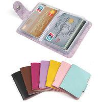 Aluma Wallet Designer Debit/Credit Card Holder Assorted Colors