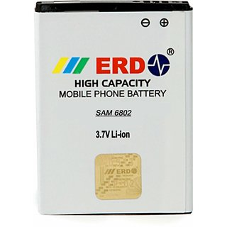 Erd Compatible Battery For Samsung Galaxy Ace Duos GT-S6802