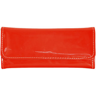 Cute Glossy Red Wallet