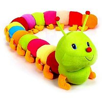 Multicolour Soft Toy Caterpiller