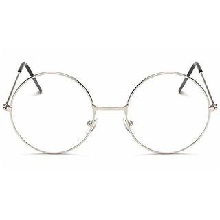 Aligator Clear UV Protection Round Unisex Sunglasses