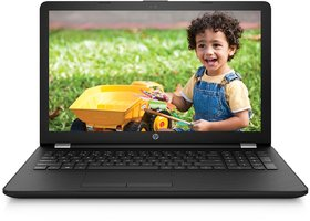 HP 15-bs542TU 15.6-inch Laptop (6th Gen Core i3-6006U/4GB/1TB/FreeDOS 2.0/Integrated Graphics), Sparkling Black
