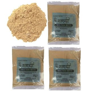 Khadi Multani Mitti Handwash 200 Gms (Pack of 3)